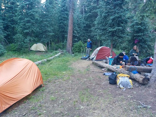 East Fork Weminuche camp