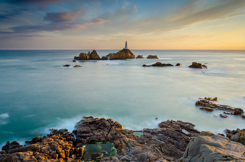 sunset lighthouse clouds nikon long exposure little cloudy sigma ne le lee jersey filters graduated density stopper neutral corbiere 1020m d7000 printed6x4