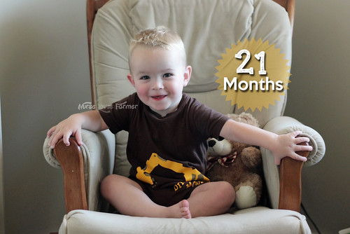 Ethan is 21 Months Old!
