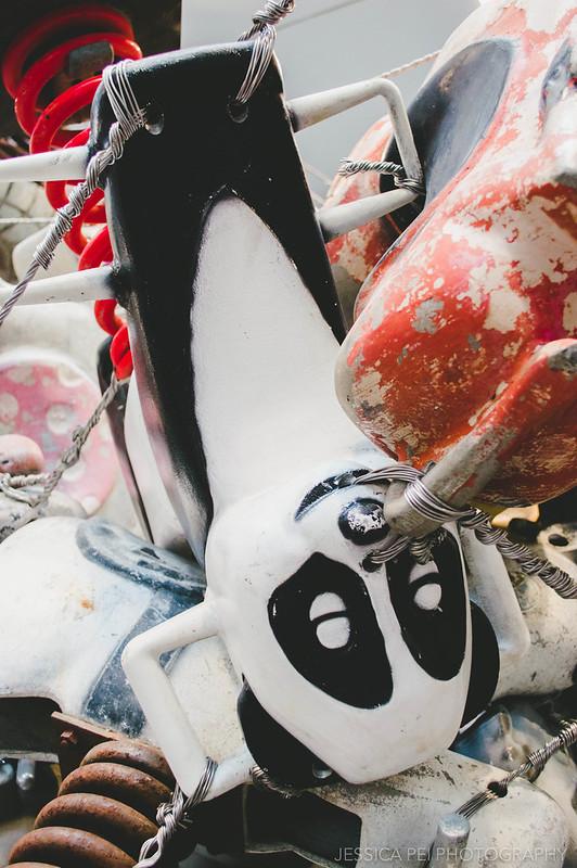 panda playground toy