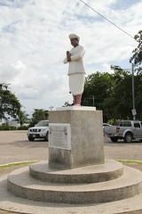 Memorial to Sewdass Sadhu