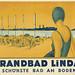 Beach Lindau, Bodensee  (c.1930) by Susanlenox