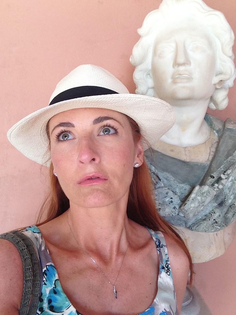 Statue impression #roman #bust