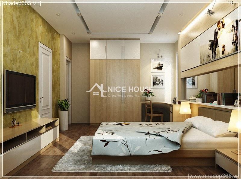 Thiết kế nội thất nhà anh Kiên - Hà Nội_2
