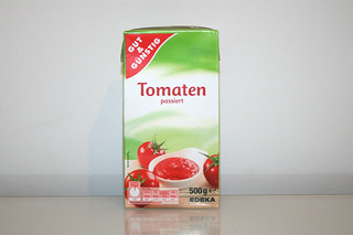 05 - Zutat passierte Tomaten / Ingredient tomatoes