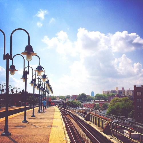 Commuting at Woodside, NY
