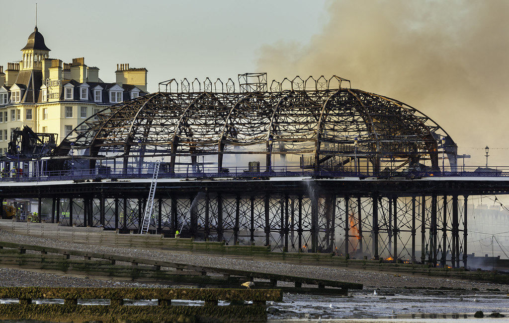 Very very sad - Eastbourne Pier