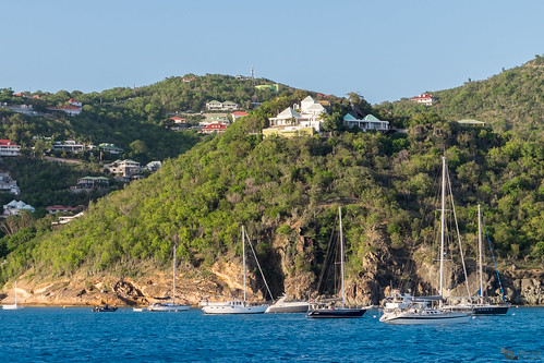 caribbean caribe saintbarths isla island navegando sail sailboat sailing velero yacht yate landscape seascape travel picoftheday sunset vacations view residential condos point