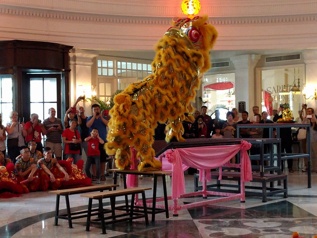 Chinese Lion Dance @ Eastern & Oriental