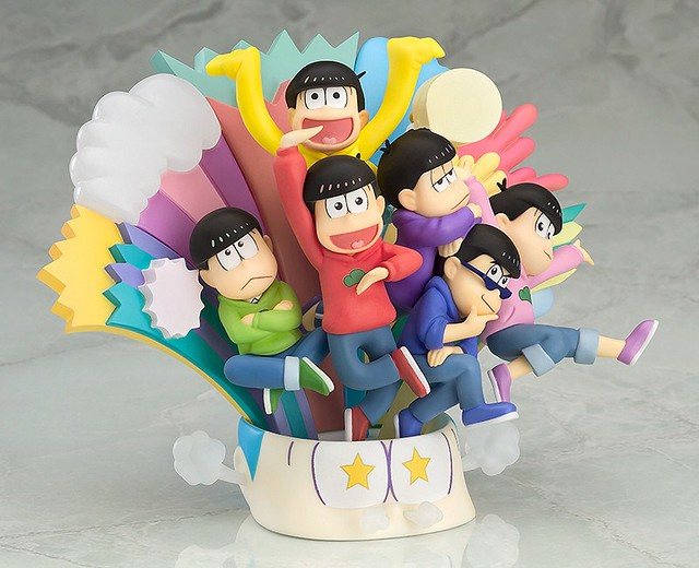 日本大人氣的傳奇六胞胎來了,《小松先生(おそ松さん )》 場景模型登場!!!