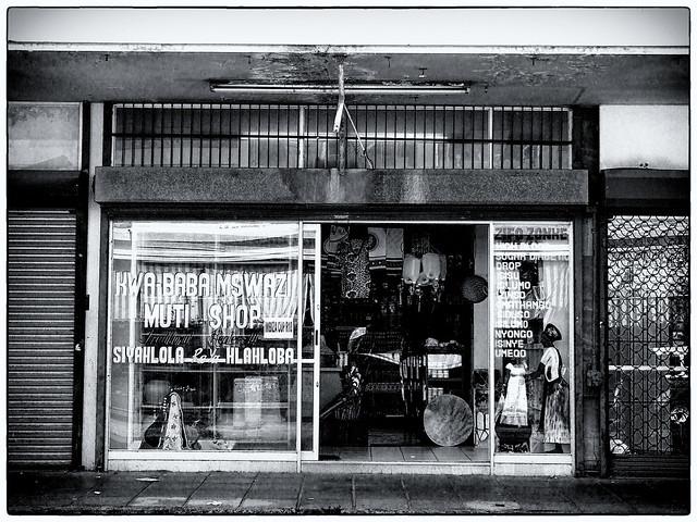 Kwa-Baba Mswazi Muti Shop, Springs.