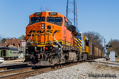 BNSF 6047   GE ES44AC   NS Memphis District
