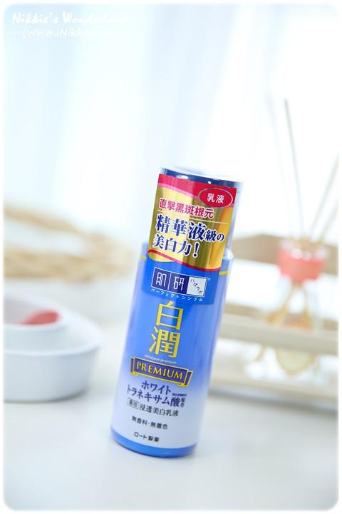 肌研 白潤高效集中淡斑化粧水 乳液