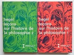 Hegel: Le�ons sur l'histoire de la philosophie