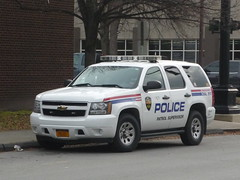 Troy (NY) Police Department Chevy Tahoe