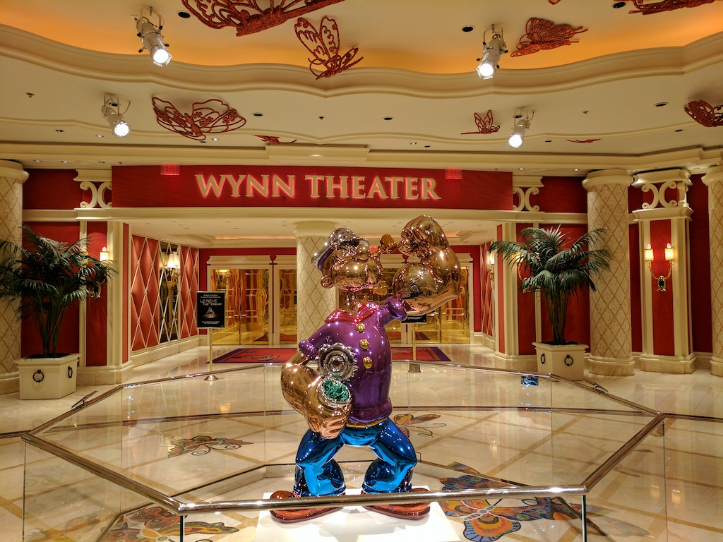 The very bestest casino in the whole of Las Vegas land - The Wynn.