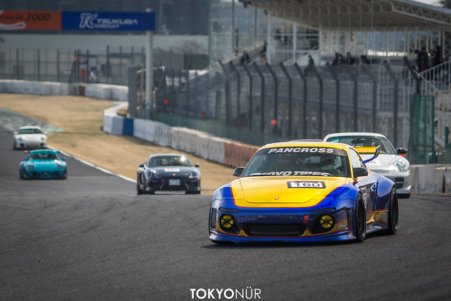 Old & New - AP Garage // Encounter a Brand New Porsche - idlers 2017 Rd.1 Tsukuba Circuit