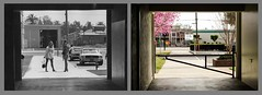 Los Alamitos High School Breezeway - 1973 and 2017