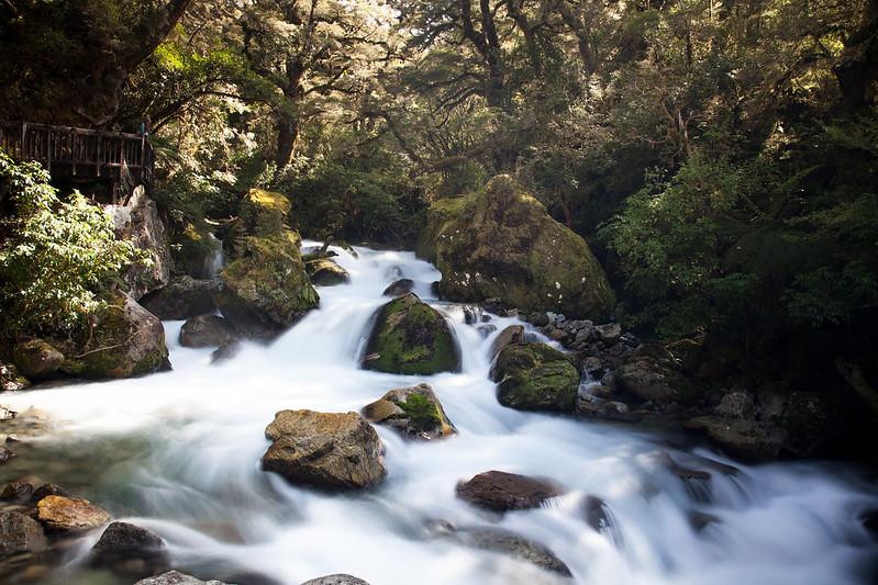Marian Cascade, Fiordland, New Zealand