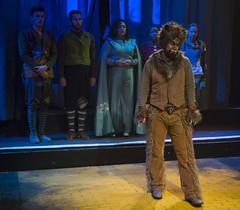 Sun, 2017-03-19 21:25 - Michael E Smith as Cowardly Lion, with ensemble