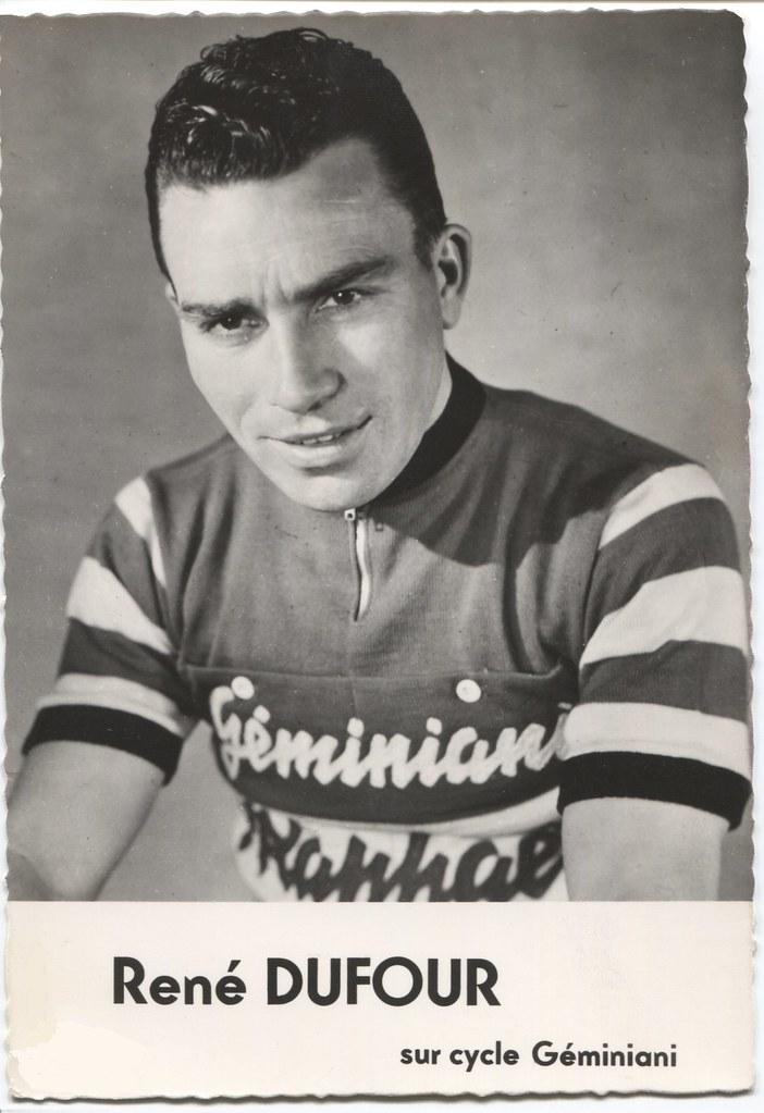 René Dufour sur cycle Géminiani