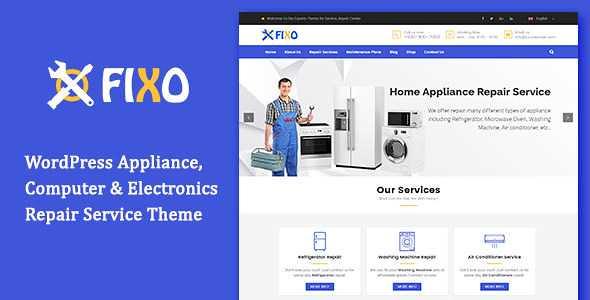 Fixo WordPress Theme free download