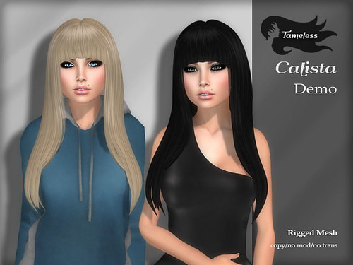 Tameless Hair Calista - Dark Side Fashion Fair Exclusive