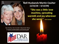RIP Nell Husbands Martin Coulter