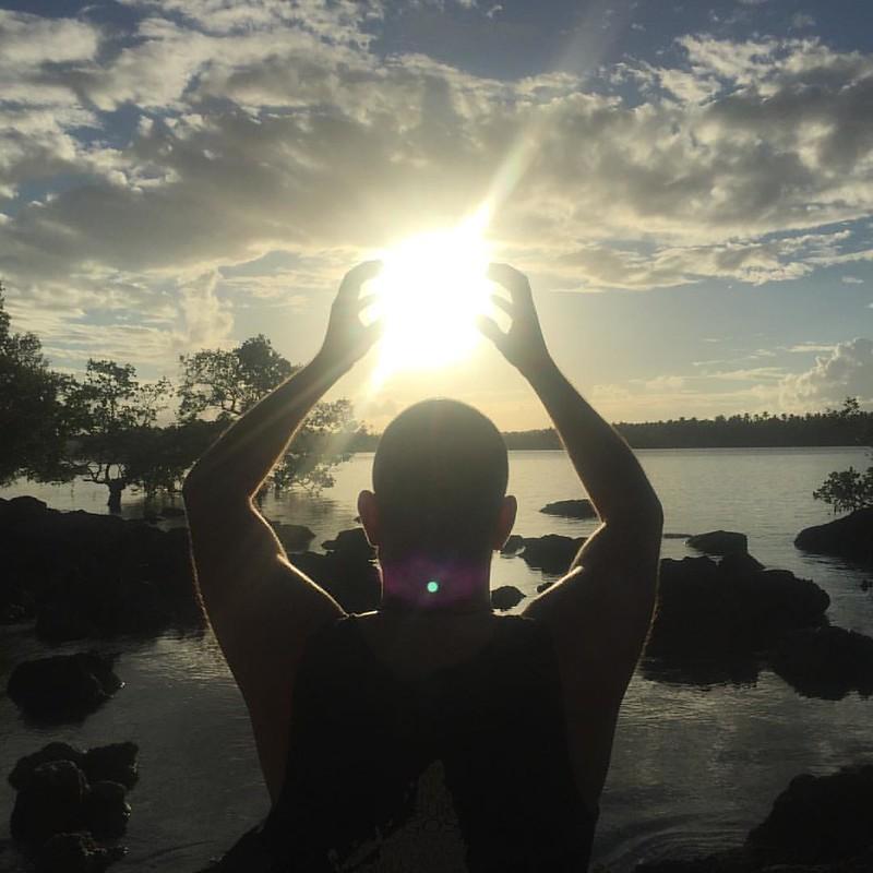 @claudiamary no nos conocemos en persona pero tenías razón en tu post, tras conocer Siargao te tengo que ver y dar un abrazo! Gracias por tus consejos sobre Filipinas! :) #Siargao #Sunset #kiennoarriesganogana