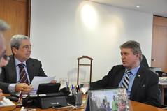 Reunião com o ministro da Secretaria de Governo, Antonio Imbassahy