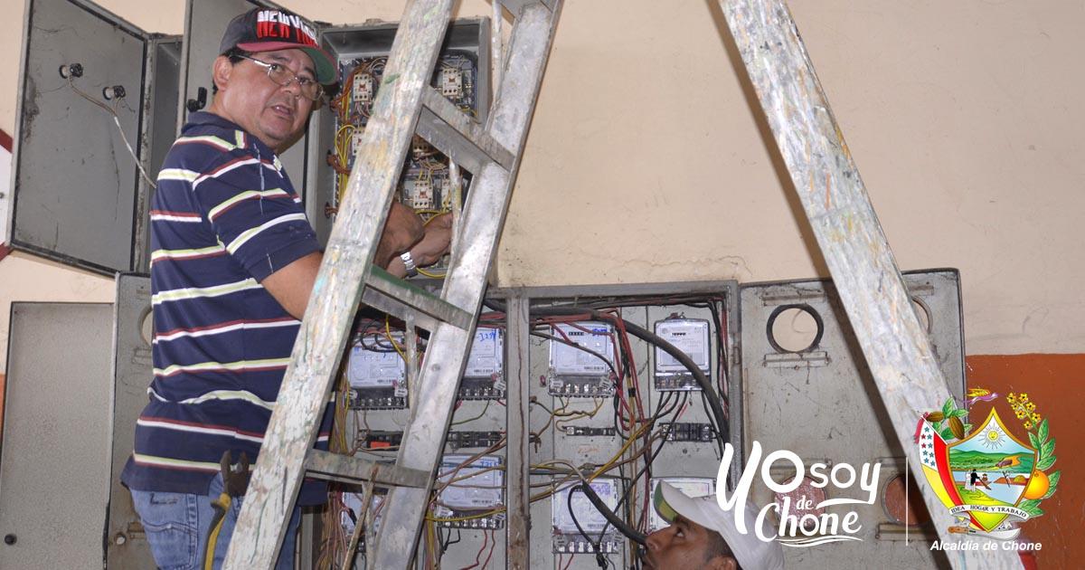 En la Terminal Terrestre realizan mejoras eléctricas