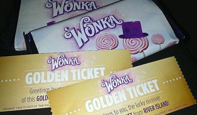 Easter fun with River Island and Willy Wonka