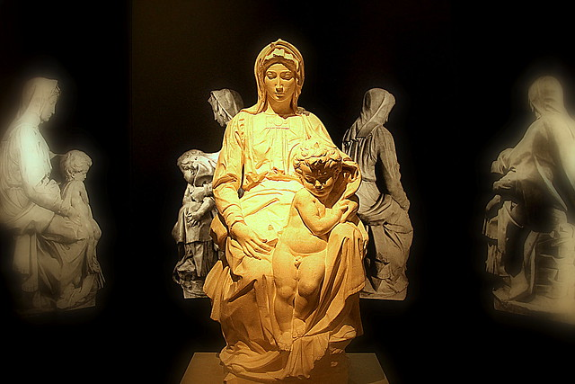 Madonna of Bruges, Galleria dell'Accademia museum, Florence, Italy