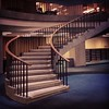 Spiral staircase in Lehman. #libraries #columbia