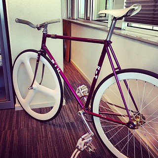 #RIH #Track #pista #fixed #fixie #fixedgear #trackbike #pistabike #campagnolo #nitto #stronglight #amsterdam #holland