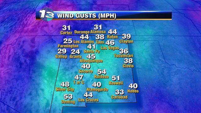 ABQ Wind, Windy Weather in ABQ, Wind in ABQ (Albuquerque: airport