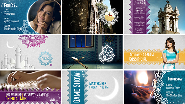 Arabia TV – Ramadan Ident Package (Miscellaneous) After