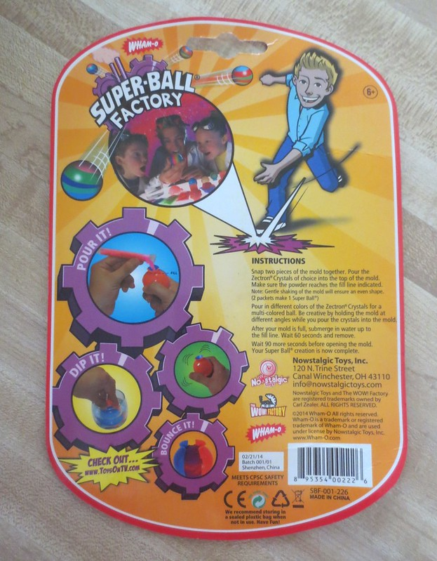 Superball kit directions