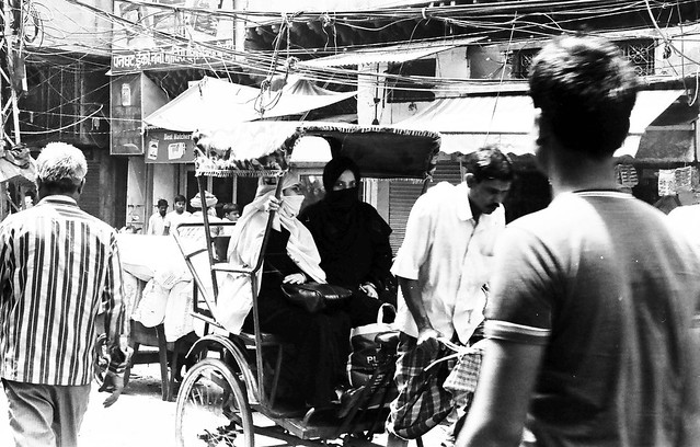 Delhi on B&W acros 100 pushed 3 stops and TMax400-10