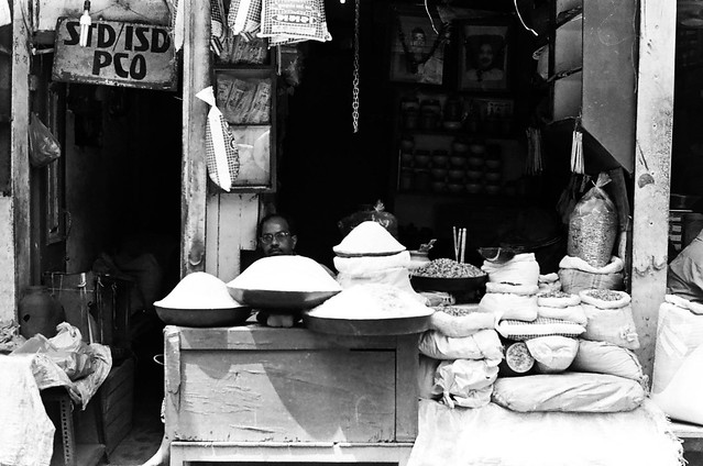 Delhi on B&W acros 100 pushed 3 stops and TMax400-8