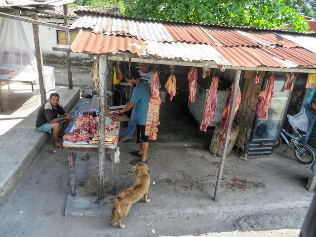 A butcher's shop in Palomino