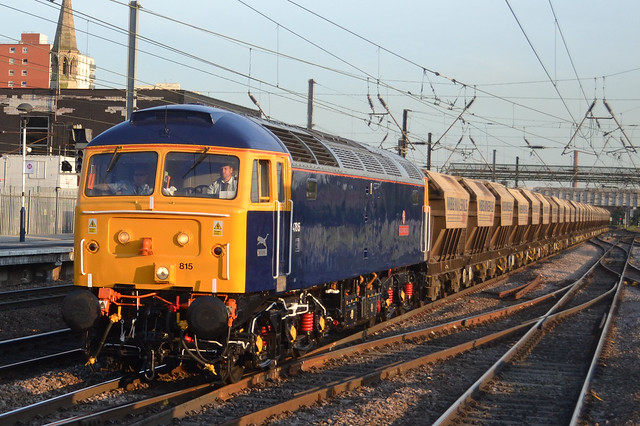 "47815 ""Great Western"" 6E88 Middleton Towers - Goole. Passing Doncaster"