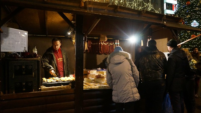 Prague: Christmas Market At Wencenlas Square