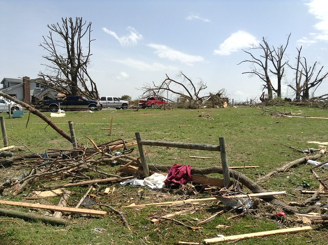 Fayetteville Tornado Response in Lincoln County