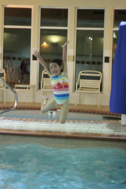 swimming by replicate then deviate