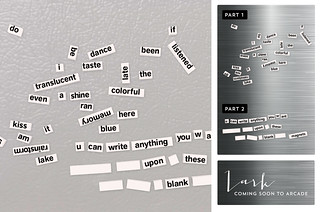 Word Magnets (comes w/white colored mini-polar fridge)
