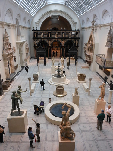 Inside the V&A
