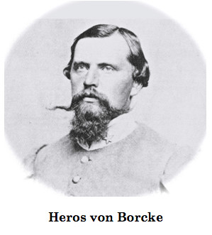 , 6_being carried to Lee by Heros Von Borcke, My cartoon Blog, My cartoon Blog