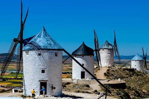 The Windmills Of La Mancha (Explored)
