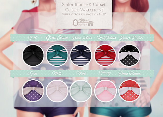 Sailor Blouse - Contact